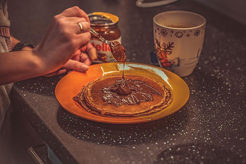 Починаємо готувати разом з дітьми: панкейки на сніданок. #КлубПозитивнихМам і #ЗАЧИТАНІ